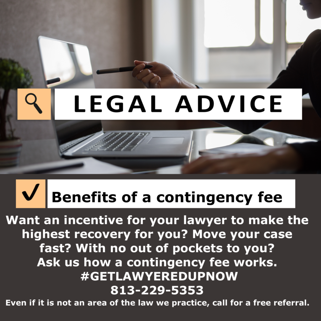Free-legal-advice-contingency-fee-tampa-florida