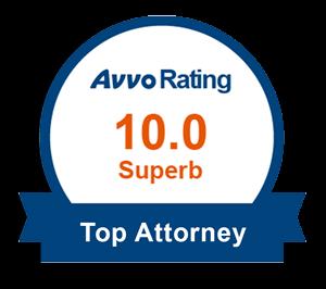 Avvo Top Attorney Award