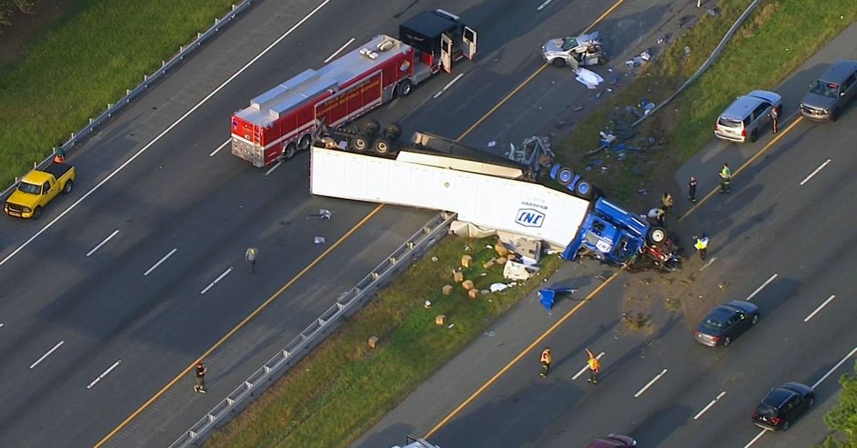 Tractor Trailer Florida Truck Crash Accident