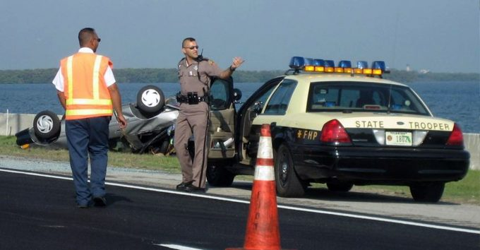 Florida Highway Patrol Car